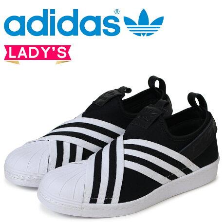 adidas Originals スーパースター アディダス レディース スリッポン スニーカー SUPERSTAR SLIPON W AC8582 ブラック オリジナルス [4/19 新入荷]