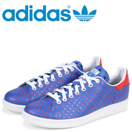 アディダス オリジナルス スタンスミス adidas Originals スニーカー ファレルウィリアムス PW STAN SMITH SPD メンズ コラボ B25400 ブルー [6/16 再入荷]