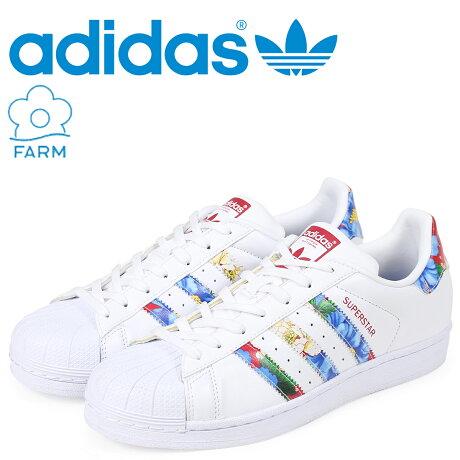 アディダス スーパースター adidas Originals スニーカー SUPER STAR W The FARM Company メンズ コラボ BB0532 ホワイト オリジナルス [予約商品 3/15頃入荷予定 新入荷]