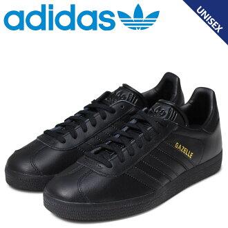 [最大2,016日圆OFF]adidasugazeru adidas運動鞋人分歧D Originals GAZELLE BB5497鞋黑色原始物[預訂商品12/22左右打算進貨新入貨物]