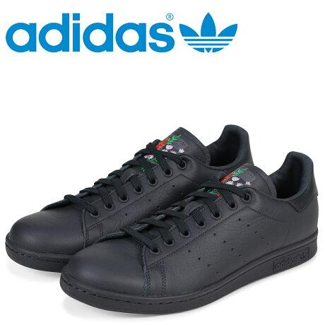 アディダス スタンスミス adidas Originals スニーカー STAN SMITH メンズ CQ2197 ブラック オリジナルス [2/22 新入荷]
