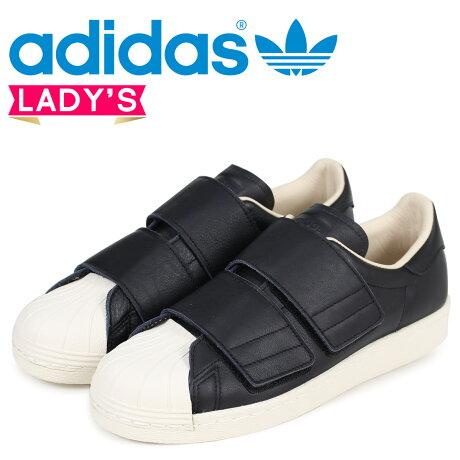 adidas Originals スーパースター 80s アディダス レディース スニーカー ベルクロ SUPER STAR VELCRO W CQ2448 ブラック オリジナルス [3/12 追加入荷]