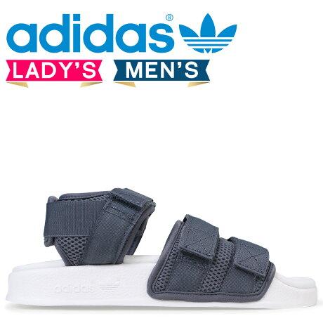 adidas Originals アディレッタ アディダス サンダル ADILETTE SANDAL 2.0 W レディース メンズ CQ2672 グレー オリジナルス [予約商品 3/20頃入荷予定 新入荷]