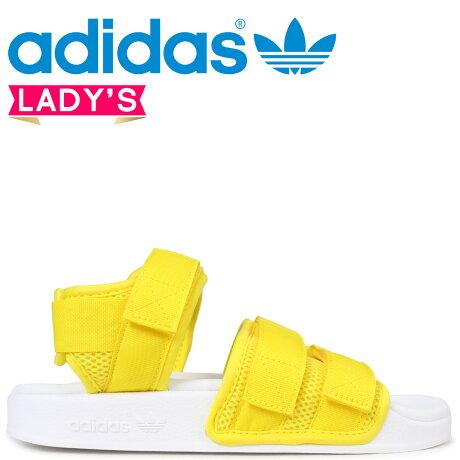 adidas Originals アディレッタ アディダス サンダル ADILETTE SANDAL 2.0 W レディース CQ2673 イエロー オリジナルス [予約商品 3/20頃入荷予定 新入荷]