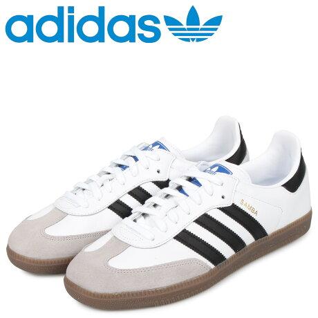 アディダス オリジナルス adidas Originals サンバ スニーカー メンズ SAMBA OG ホワイト 白 B75806 [予約 2/18 追加入荷予定]