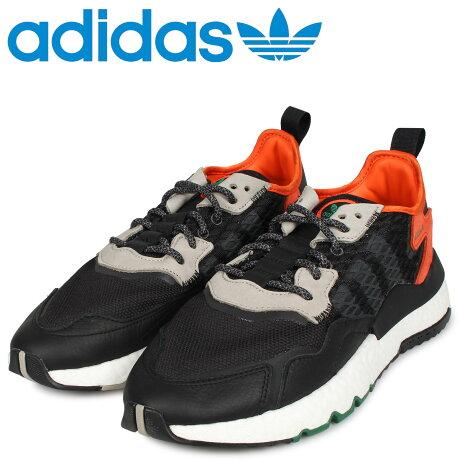 アディダス オリジナルス adidas Originals ナイト ジョガー スニーカー メンズ NITE JOGGER ブラック 黒 EE5549 [予約商品 10/11頃入荷予定 新入荷]