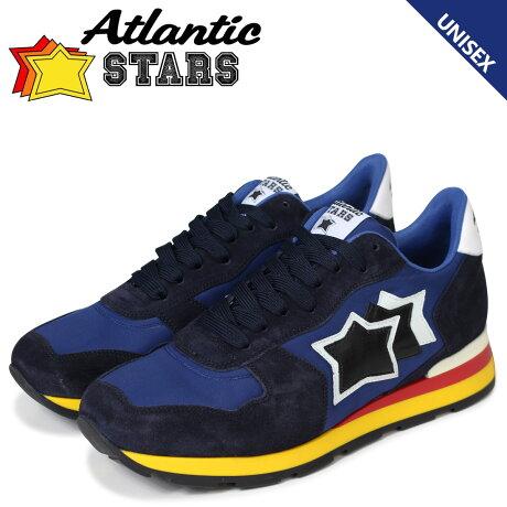 アトランティックスターズ メンズ スニーカー Atlantic STARS アンタレス ANTARES AAB-89B ブルー [5/12 新入荷]