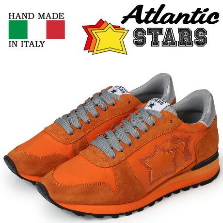 Atlantic STARS メンズ スニーカー アトランティックスターズ アルゴ ARGO AA-NY-NAAN オレンジ [予約商品 5/18頃入荷予定 新入荷]