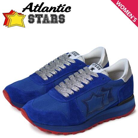 アトランティックスターズ レディース スニーカー Atlantic STARS アレナ ALHENA AE-NY-RBBNY ブルー [予約商品 5/18頃入荷予定 新入荷]