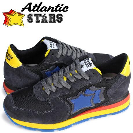 Atlantic STARS メンズ スニーカー アトランティックスターズ アンタレス ANTARES ANG-49N 靴 ネイビー [予約商品 5/18頃入荷予定 追加入荷]