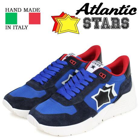 Atlantic STARS アトランティックスターズ メンズ スニーカー マーズ MARS AN-SN12 ブルー [3/15 新入荷]