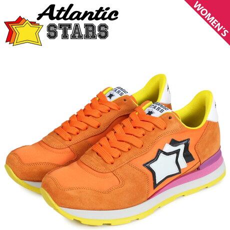 アトランティックスターズ レディース スニーカー Atlantic STARS ベガ VEGA ARA-82F オレンジ [予約商品 7/13頃入荷予定 新入荷]