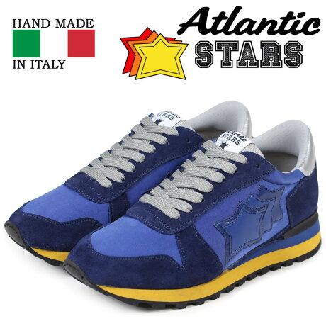 Atlantic STARS アトランティックスターズ メンズ スニーカー アルゴ ARGO ATNYNGBN ブルー [3/15 新入荷]