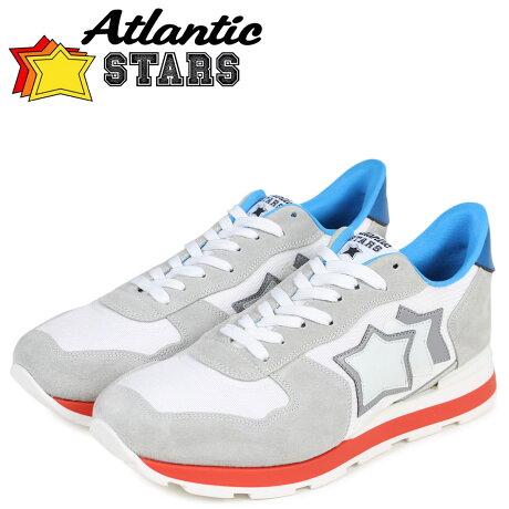 アトランティックスターズ メンズ スニーカー Atlantic STARS アンタレス ANTARES BBI-35B ライトグレー [予約商品 5/23頃入荷予定 再入荷]