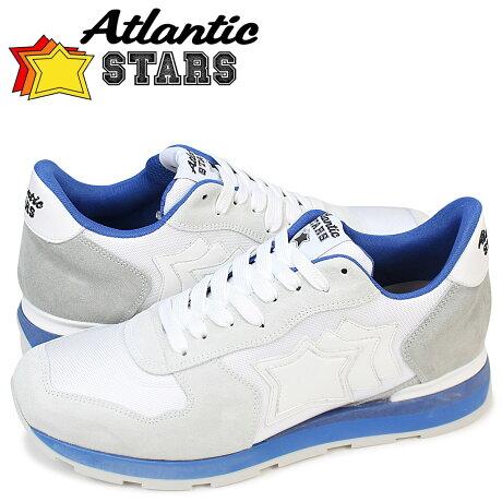 アトランティックスターズ メンズ スニーカー Atlantic STARS ホワイト アンタレス ANTARES BCA 83B 靴 [予約商品 2/9頃入荷予定 再入荷]