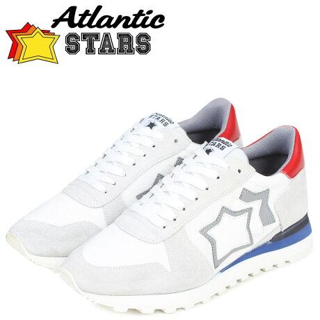 Atlantic STARS メンズ スニーカー アトランティックスターズ アルゴ ARGO BC-NY-LBBNY ホワイト [3/15 新入荷]
