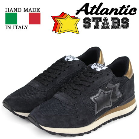 Atlantic STARS アトランティックスターズ メンズ スニーカー アルゴ ARGO BNNYNPSN ブラック [3/15 新入荷]