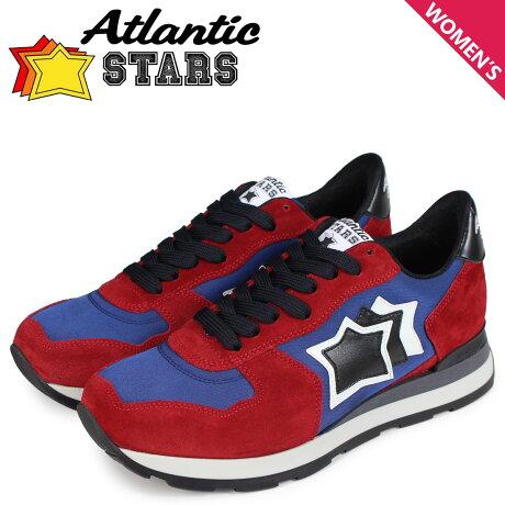 アトランティックスターズ レディース スニーカー Atlantic STARS ベガ VEGA BRN-81N レッド [予約商品 10/17頃入荷予定 新入荷]