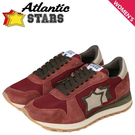 アトランティックスターズ レディース スニーカー Atlantic STARS アレナ ALHENA CB-NY-APSM ワインレッド [予約商品 5/18頃入荷予定 新入荷]