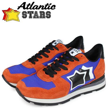 アトランティックスターズ メンズ スニーカー Atlantic STARS アンタレス ANTARES EAR-81N オレンジ [予約商品 10/17頃入荷予定 新入荷]