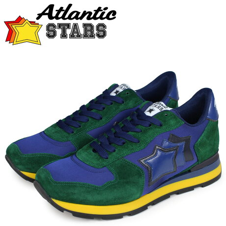 アトランティックスターズ メンズ スニーカー Atlantic STARS アンタレス ANTARES FA-01NY グリーン [予約商品 10/17頃入荷予定 新入荷]