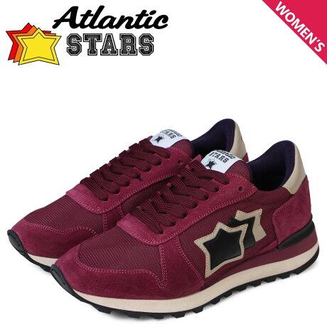 アトランティックスターズ レディース スニーカー Atlantic STARS アレナ ALHENA FLNYNPVN ワインレッド [予約商品 5/18頃入荷予定 新入荷]