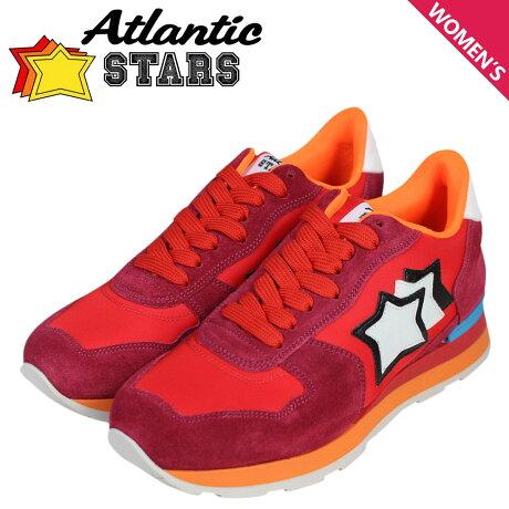 アトランティックスターズ レディース スニーカー Atlantic STARS ベガ VEGA FRA-85C レッド [予約商品 5/23頃入荷予定 再入荷]