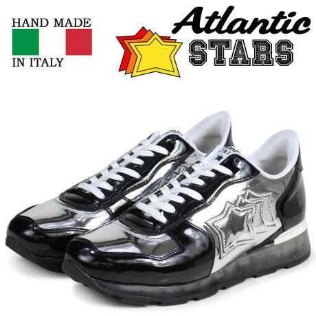 アトランティックスターズ メンズ スニーカー Atlantic STARS アンタレス ANTARES GAN-32B ブラック [予約商品 3/15頃入荷予定 追加入荷]