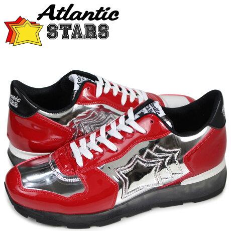 アトランティックスターズ メンズ スニーカー Atlantic STARS アンタレス ANTARES GAR-32B レッド [3/15 追加入荷]