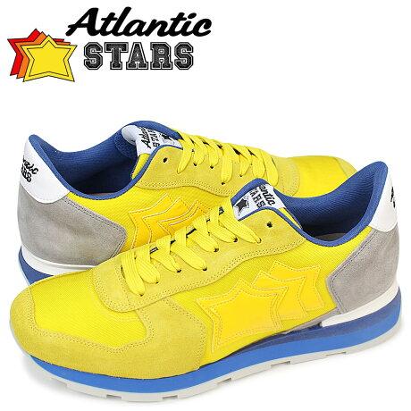 アトランティックスターズ メンズ スニーカー Atlantic STARS アンタレス ANTARES GSG 83B イエロー [予約商品 5/23頃入荷予定 追加入荷]