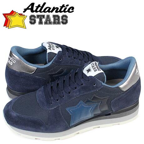 アトランティックスターズ メンズ スニーカー Atlantic STARS シリウス SIRIUS MAN 63N 靴 ネイビー [3/15 追加入荷]