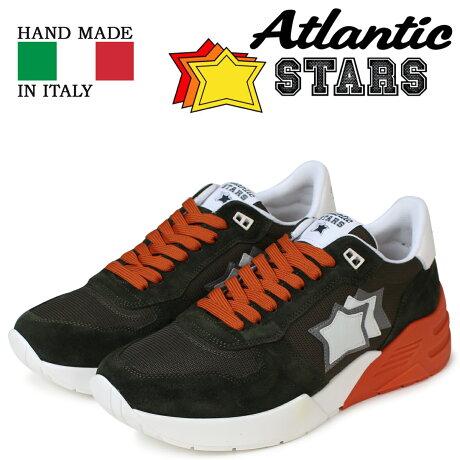 アトランティックスターズ メンズ スニーカー Atlantic STARS マーズ MARS MF-SN08 ブラック [予約商品 5/18頃入荷予定 新入荷]