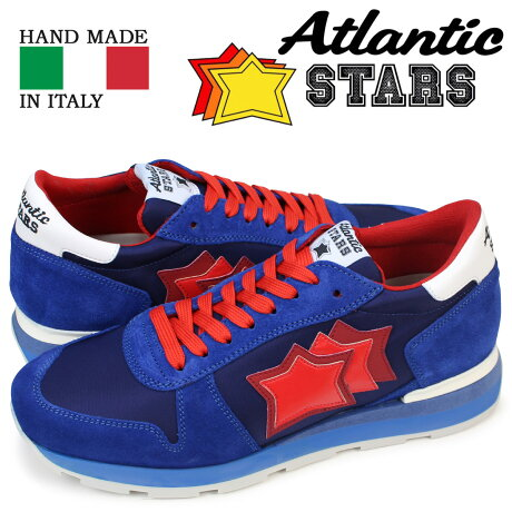 Atlantic STARS メンズ スニーカー アトランティックスターズ ブルー レッド シリウス SIRIUS MN 83B 靴 [予約商品 5/18頃入荷予定 追加入荷]