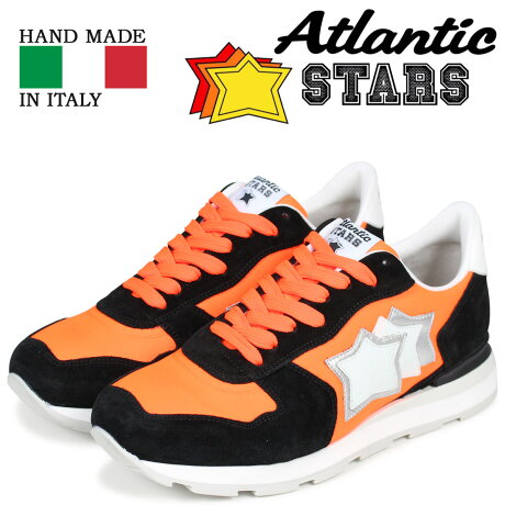 Atlantic STARS メンズ スニーカー アトランティックスターズ アンタレス ANTARES NAF-86N オレンジ [3/15 新入荷]