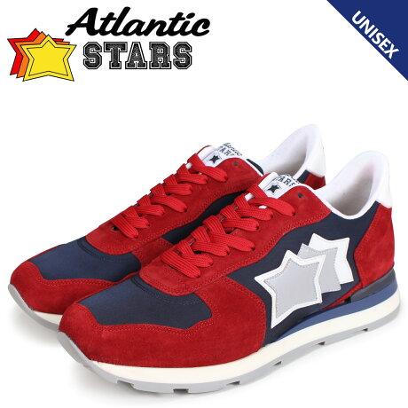 アトランティックスターズ メンズ スニーカー Atlantic STARS アンタレス ANTARES NFS-09NY レッド [予約商品 7/13頃入荷予定 新入荷]