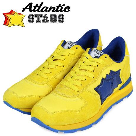 Atlantic STARS メンズ スニーカー アトランティックスターズ アンタレス ANTARES NGA-23A 靴 イエロー [予約商品 5/18頃入荷予定 追加入荷]