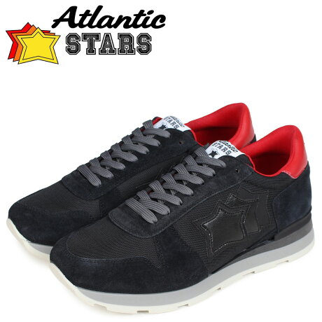アトランティックスターズ メンズ スニーカー Atlantic STARS シリウス SIRIUS NOB-63N ブラック [予約商品 10/17頃入荷予定 新入荷]