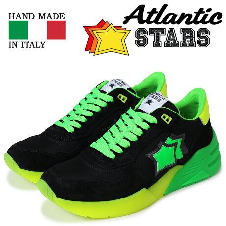 アトランティックスターズ メンズ スニーカー Atlantic STARS マーズ MARS NV-SN04 ブラック [予約商品 5/18頃入荷予定 新入荷]