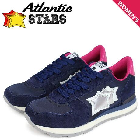 アトランティックスターズ スニーカー レディース Atlantic STARS ベガ VEGA NWF-09NY ネイビー