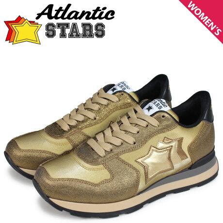 アトランティックスターズ レディース スニーカー Atlantic STARS ベガ VEGA OB-79N ゴールド [予約商品 10/17頃入荷予定 新入荷]