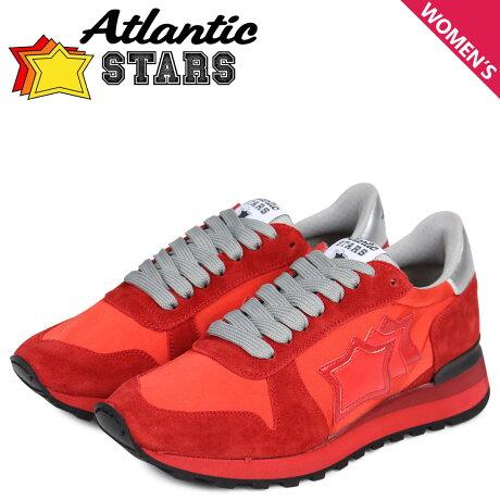 アトランティックスターズ レディース スニーカー Atlantic STARS アレナ ALHENA RFNYNRRN レッド [3/15 新入荷]
