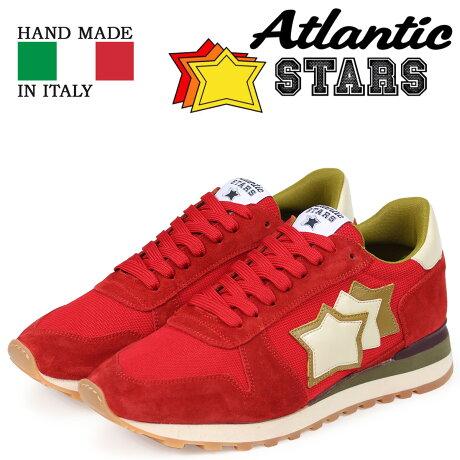 Atlantic STARS アトランティックスターズ メンズ スニーカー アルゴ ARGO RFS-NY-APSBO レッド [3/15 新入荷]