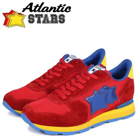 Atlantic STARS メンズ スニーカー アトランティックスターズ アンタレス ANTARES RRB-23A レッド [予約商品 3/24頃入荷予定 新入荷]