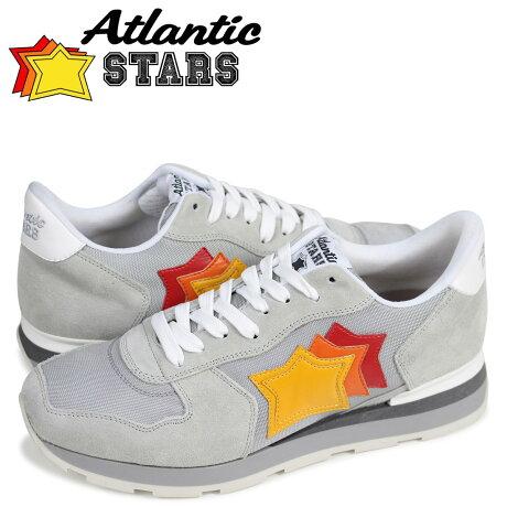 アトランティックスターズ メンズ スニーカー Atlantic STARS アンタレス ANTARES SBB-63B グレー [予約商品 5/23頃入荷予定 追加入荷]