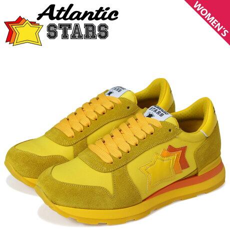 アトランティックスターズ レディース スニーカー Atlantic STARS ジェンマ GEMMA SG46O イエロー [予約商品 5/18頃入荷予定 新入荷]