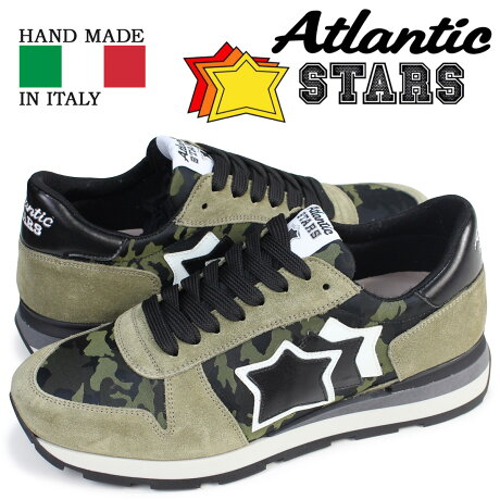 アトランティックスターズ メンズ スニーカー Atlantic STARS シリウス SIRIUS TM3 81N 靴 カモ [1/15 追加入荷]