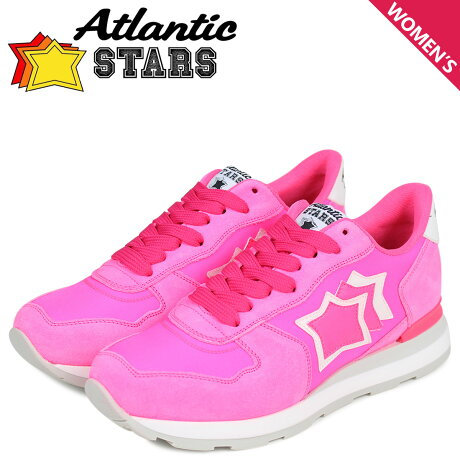 Atlantic STARS レディース スニーカー アトランティックスターズ ベガ VEGA UVP-86FF ピンク [3/8 新入荷]