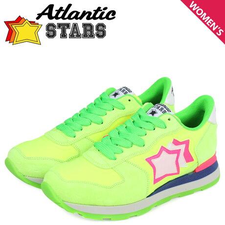 Atlantic STARS アトランティックスターズ レディース スニーカー ベガ VEGA UVS-87FF グリーン [3/14 新入荷]