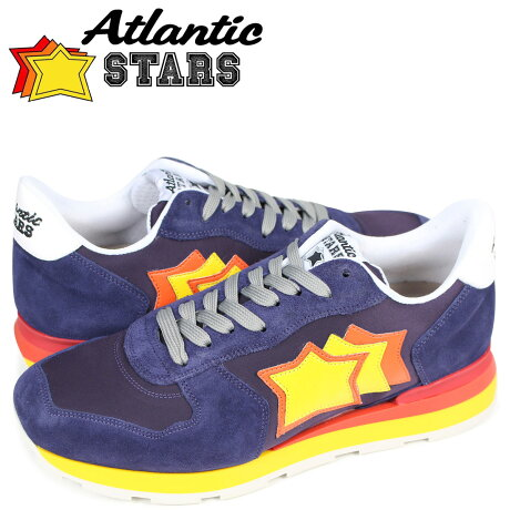 Atlantic STARS メンズ スニーカー アトランティックスターズ アンタレス ANTARES VB27R パープル [3/15 新入荷]