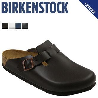Point 2 x Birkenstock-BIRKENSTOCK Boston BOSTON [normal width leather] ダンクルブラウン mens Womens unisex Sandals [regular] 02P01Jun14